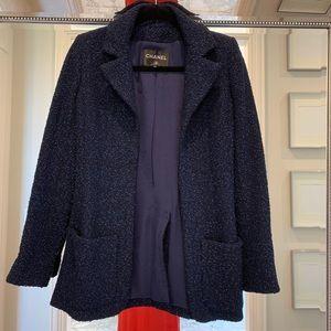 Authentic Chanel tweed jacket/ blazer